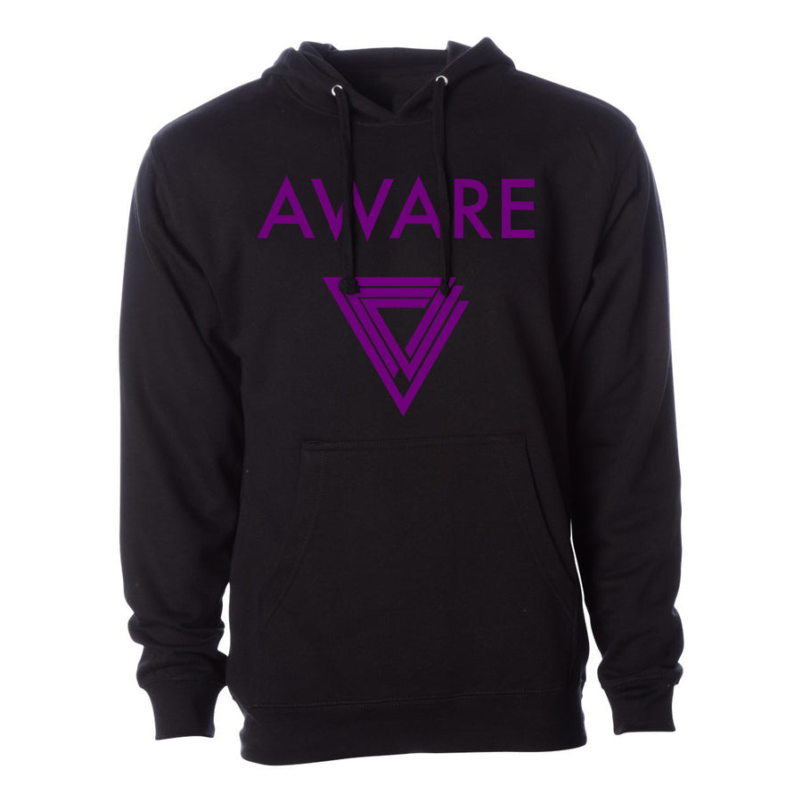 Purple AWARE Hoodies