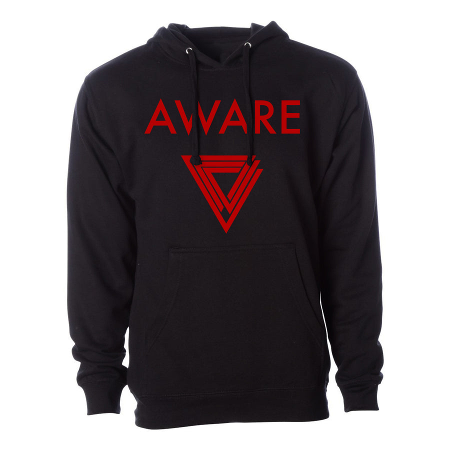 Red AWARE Hoodies