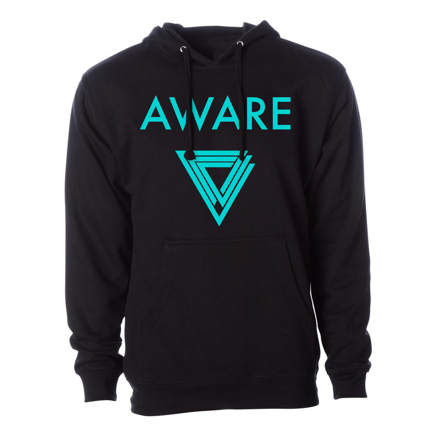 Teal AWARE Hoodies