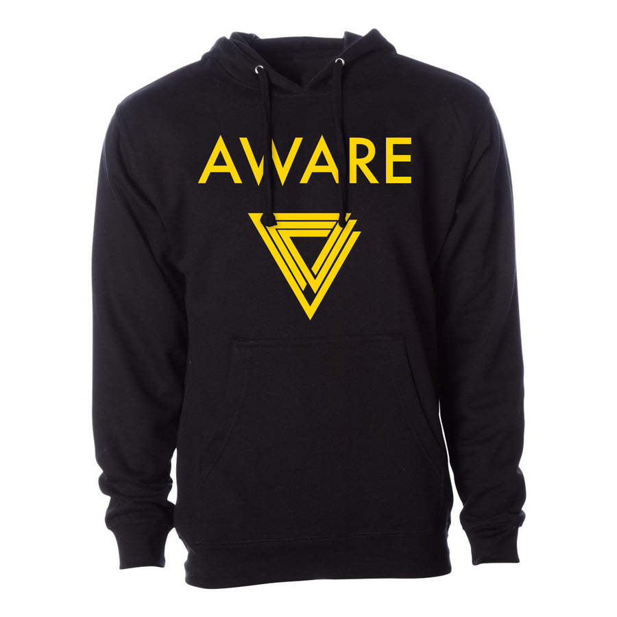 Yellow AWARE Hoodies