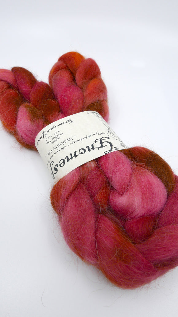 Alpaca Top - 4oz/114g - Raspberry Pie