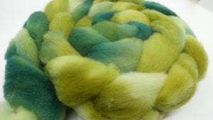 Dorset Roving - 4oz/114g - Summer's Green