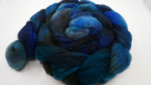 East Friesian Roving - 4oz/114g - Abyssal Plain