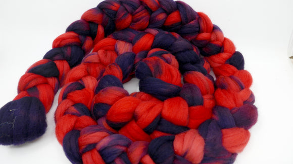 Polwarth Top - 4oz/114g - Red Sided Eclectus