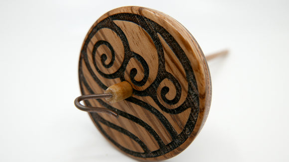 Spindle - Water (Zebrawood)
