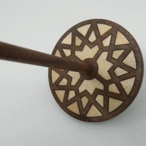 Spindle (Bottom Whorl) - Star Inlay