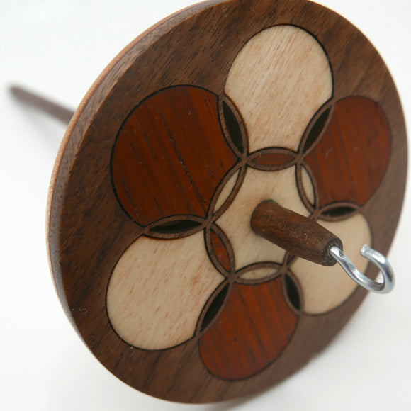 Spindle - Circle Inlay
