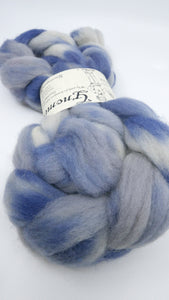 Tunis Roving - 4oz/114g - Thunderhead