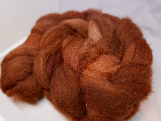 Happy Sheep 2017 Carded Roving - 4oz/114g - If I Were A Moose