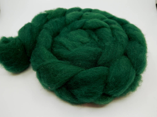 Romney Roving - 4oz/114g - Heart of the Green