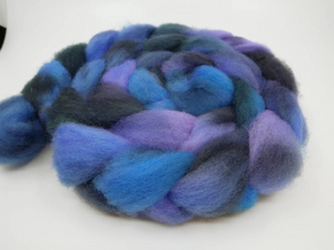 Romney Roving - 4oz/114g - Night Haunts