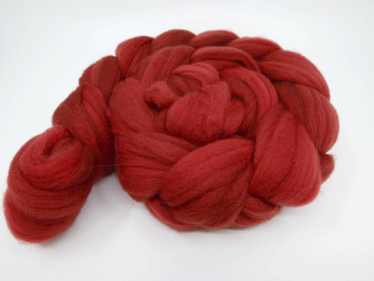 Polwarth Top - 4oz/114g - Paprika