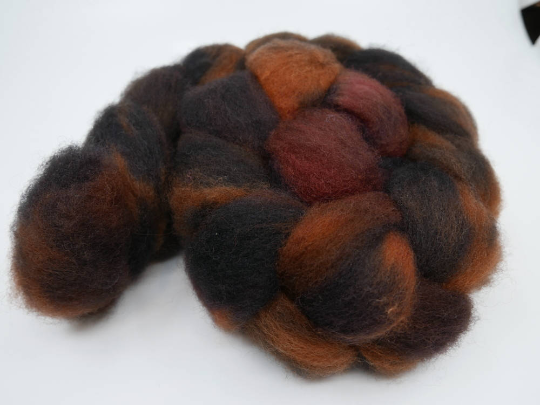 Romney Roving - 4oz/114g - Tigers in the Night