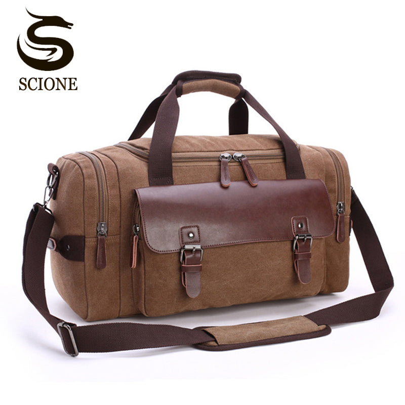 High Quality Canvas Luggage Bag Large Capacity