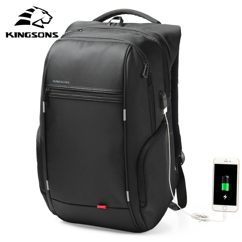 "Kingsons 15""17""  Laptop Backpack"