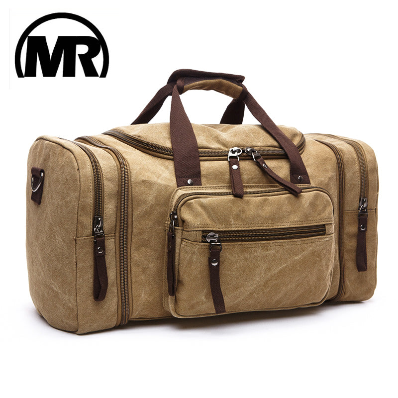 Soft Canvas Men Travel Bags