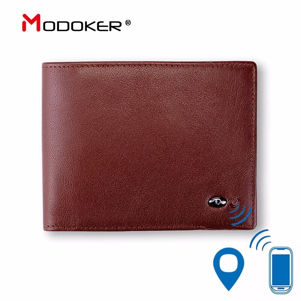 Modoker Smart Wallet Genuine Leather