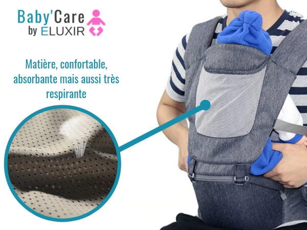 porte bebe baby care bretelle