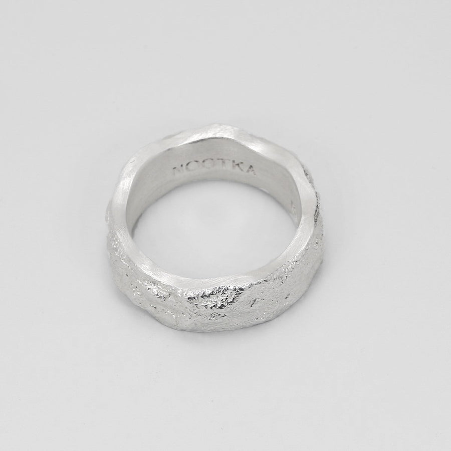 CHUNKY RING SILVER