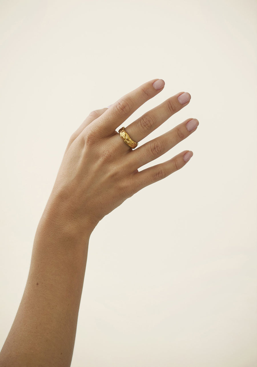CHUNKY RING  GOLD