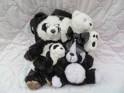 Friends Together Bag - Panda Plushies