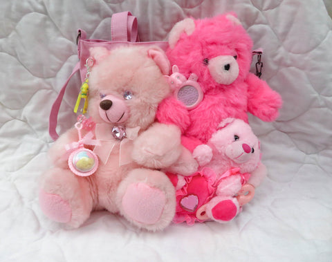 Friends Together Bag - Pink Plushies