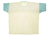 CANDY COLORBLOCK MESH SHIRT - PASTEL YELLOW BACK