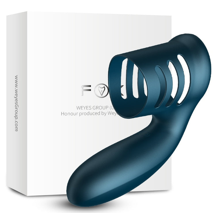 FOX A2 Male Charging Shock Delayed Ejaculation Ring Lock Ring - Expecto.shop