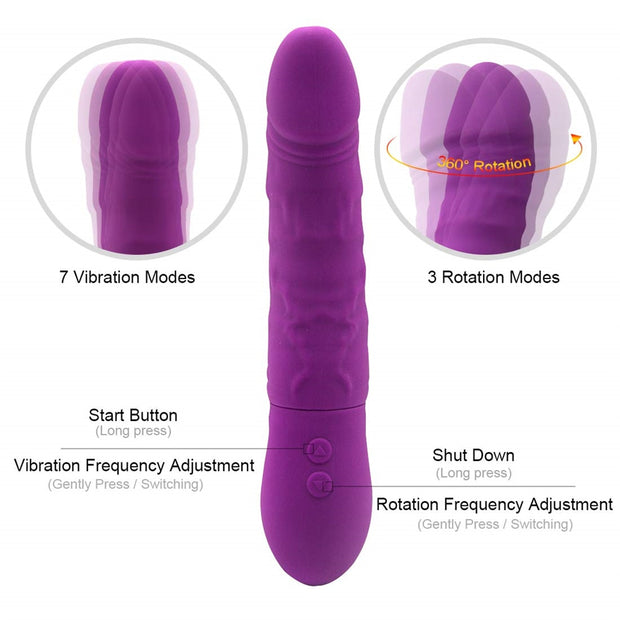 G Spot Wand Vibrator Adult Sex Toys for Woman Rabbit Vibrator - Expecto.shop
