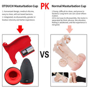 OTOUCH Masturbator for Man Men Sex Toys Intimate Silicone Automatic Heating Vibrator Male Penis Training Machine Adults Tools - Expecto.shop