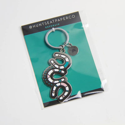 Thundering Hooves Keychain - Two Hearts Equine Boutique