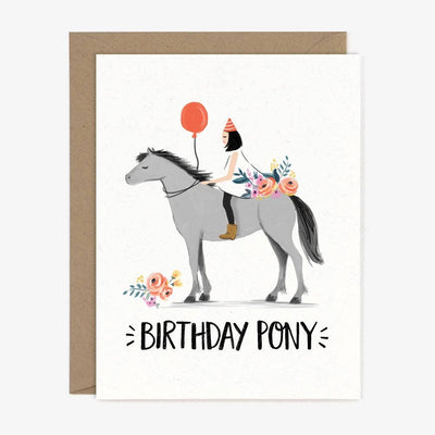 Birthday Pony Card - Two Hearts Equine Boutique