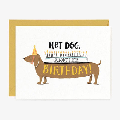 Hot Dog Another Birthday Card - Two Hearts Equine Boutique