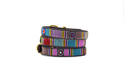 Bijou Beaded Dog Collar - Two Hearts Equine Boutique
