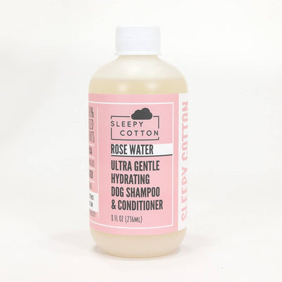 Ultra Gentle Hydrating Dog Shampoo - Rose Water - Two Hearts Equine Boutique