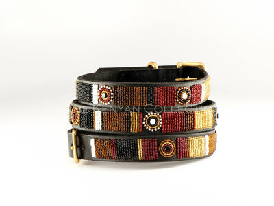 Topi Beaded Dog Collar - Two Hearts Equine Boutique