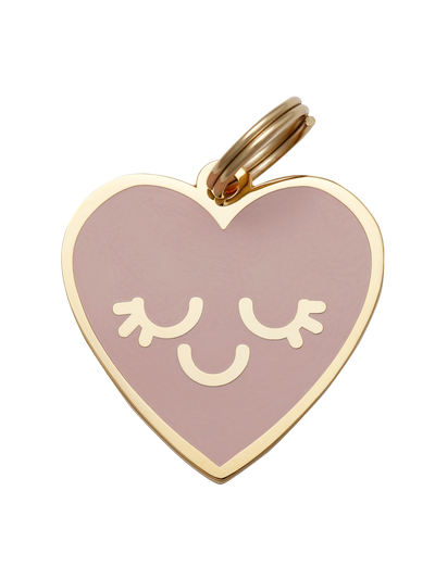 Smiling Heart Pet ID Tag - Two Hearts Equine Boutique