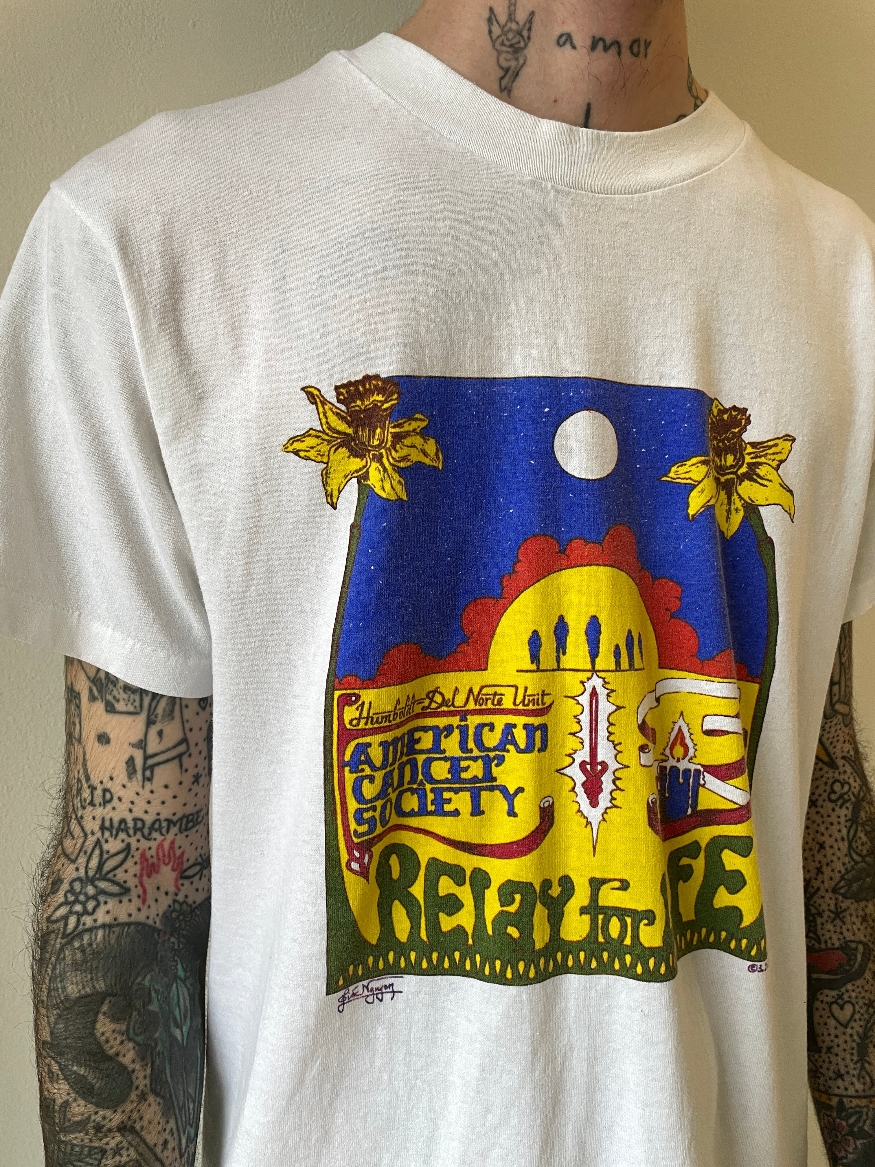 1990's Relay for Life T-Shirt (M)