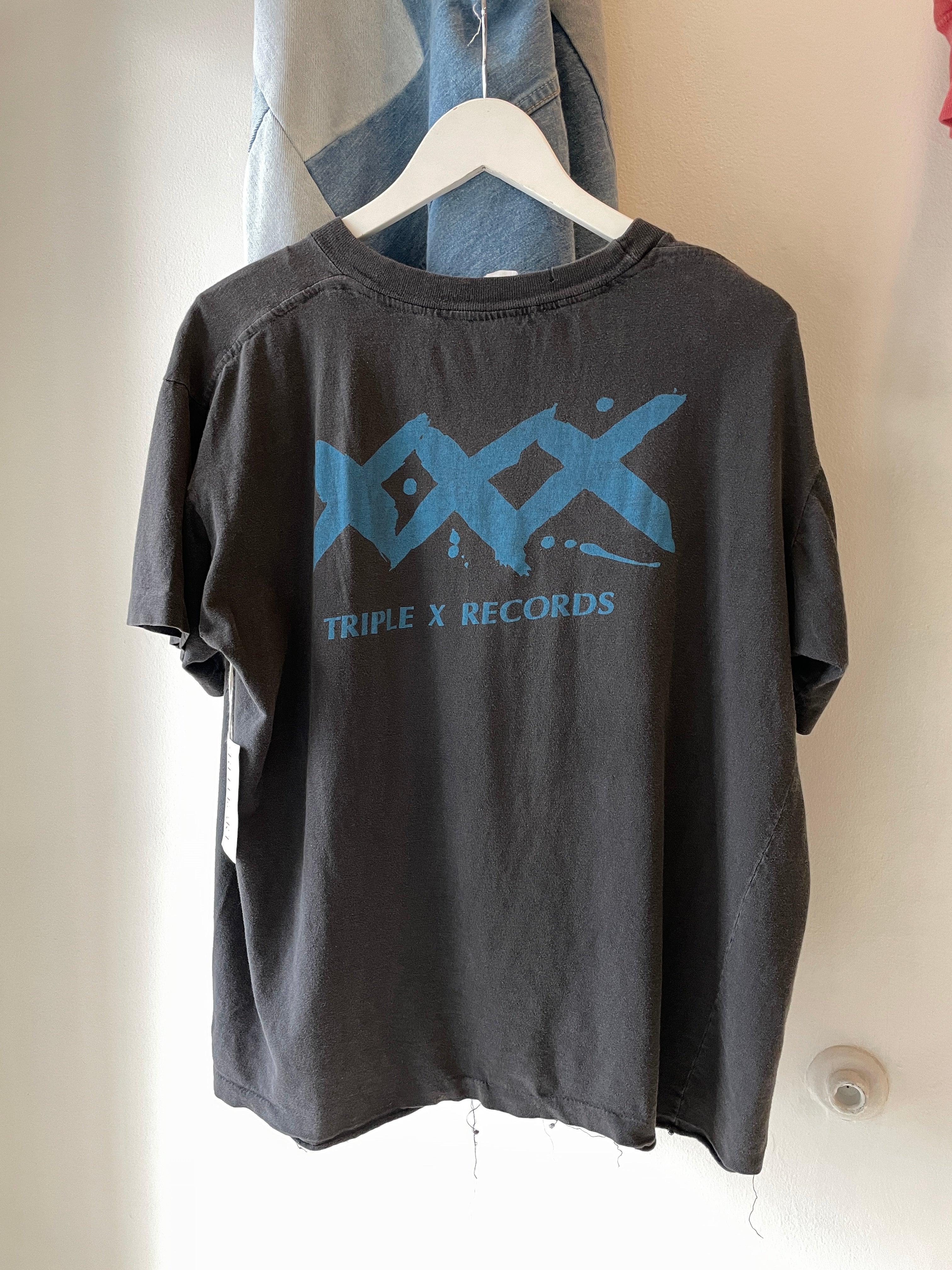 "1980's Jane's Addiction ""XXX Records"" Shirt (L/XL)"