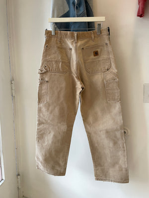 1990's Carhartt Double Knee Pants (33 x 29)