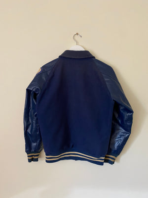 1960's Wool and Leather Varsity Jacket (M)