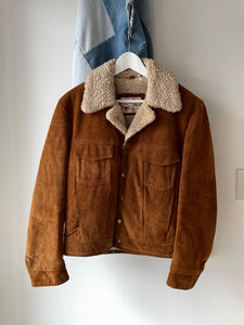 1970's Sears Suede Trucker Jacket (M/L)