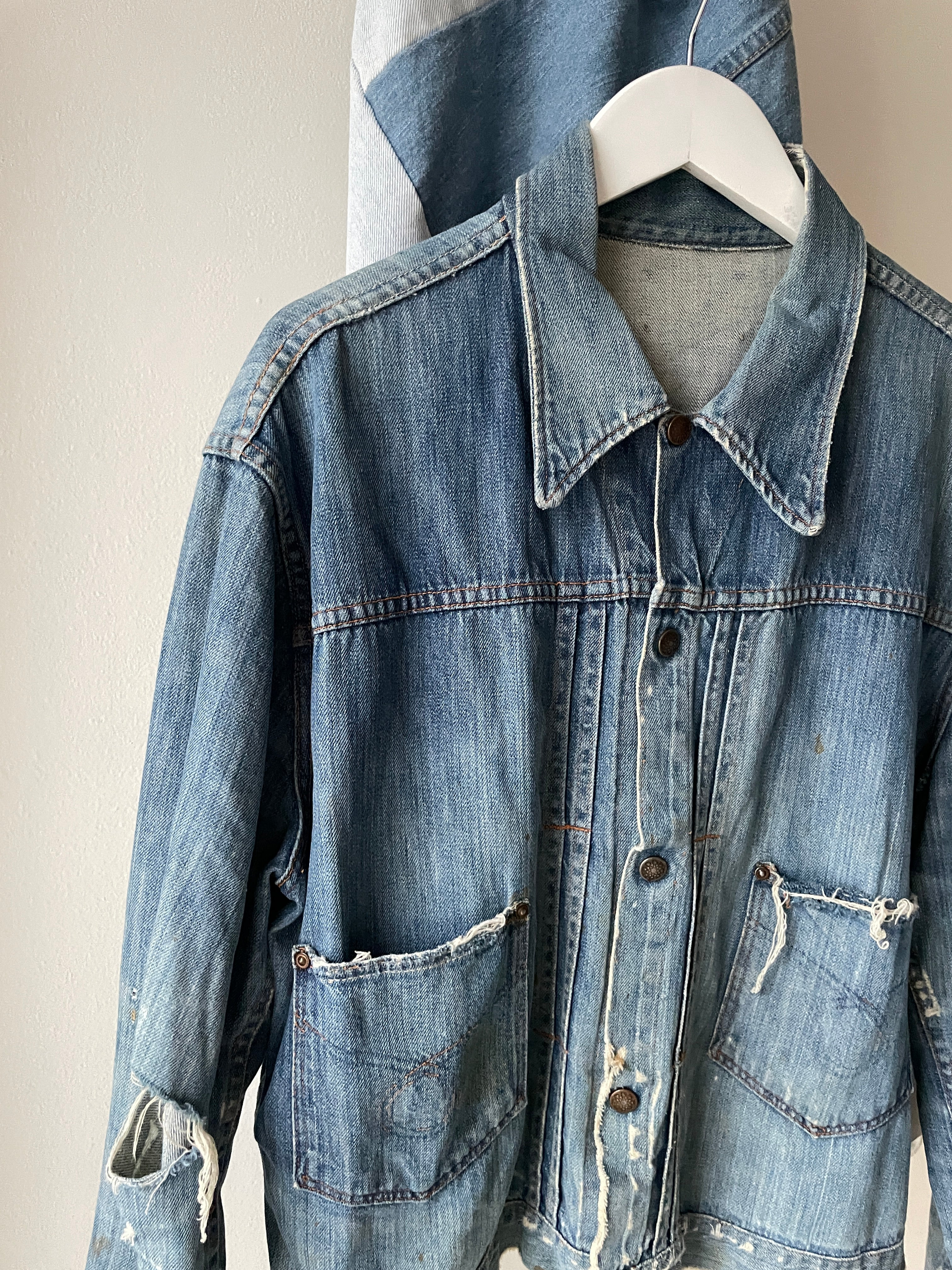 1960's Sears Selvedge Lined Denim Jacket (L)