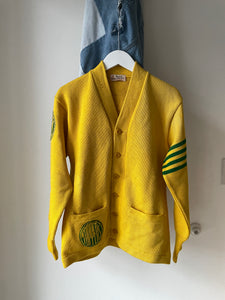 "1950's Collegiate ""Toppers"" Cardigan (S/M)"