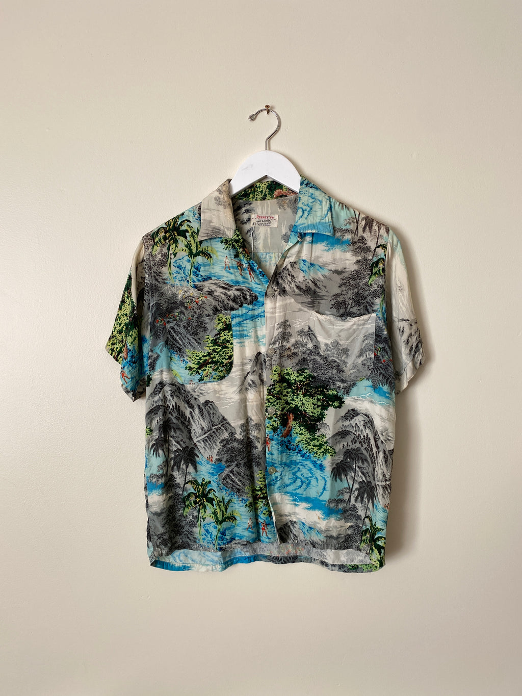 1950's Penney's Made in Japan Hawaiian Shirt (S/M)