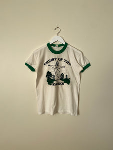 1980's Christ of the Ozarks Ringer Shirt (S/M)