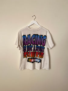 1990's Nascar Distressed Shirt (L)