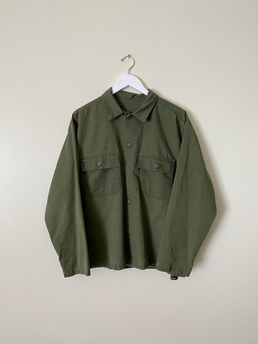 1970's Military Over Shirt (L/XL)
