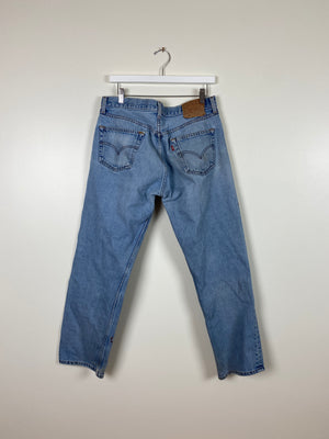 1990's Levi's 501 XX Mid Wash Jeans (34 x 29)