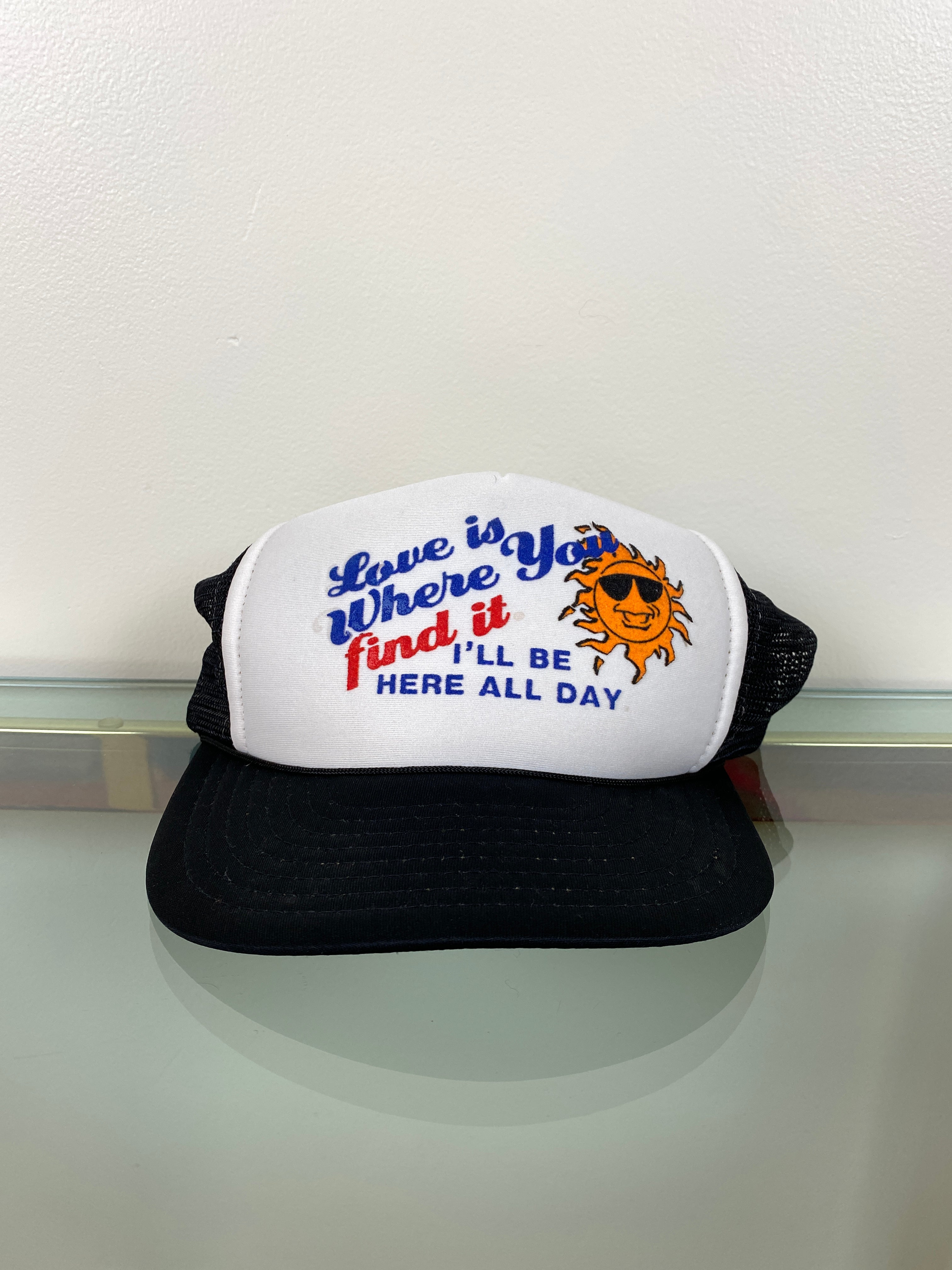 1990's Love Trucker Hat (O/S)
